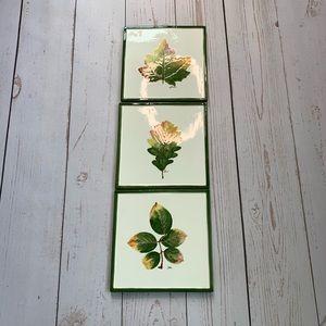 Pier 1 - Handmade Italian Fall Leaf Tiles